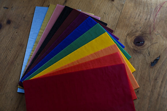 Stockmar Decorative Beeswax - 12 Colours Sheets