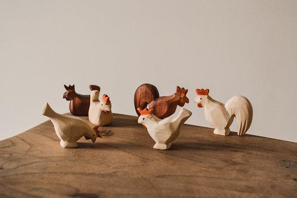Chickens - Predan Wooden Toys