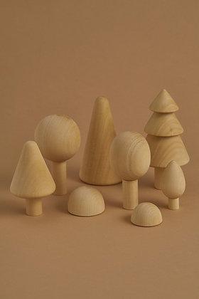 Raduga Grëz Natural Wooden Trees