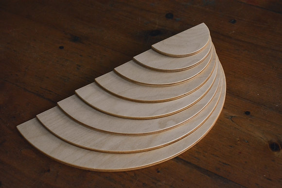Natural Semi Circles - Atelier Mahaut