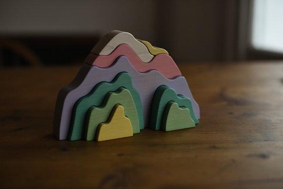Pastel Mountain Stacker