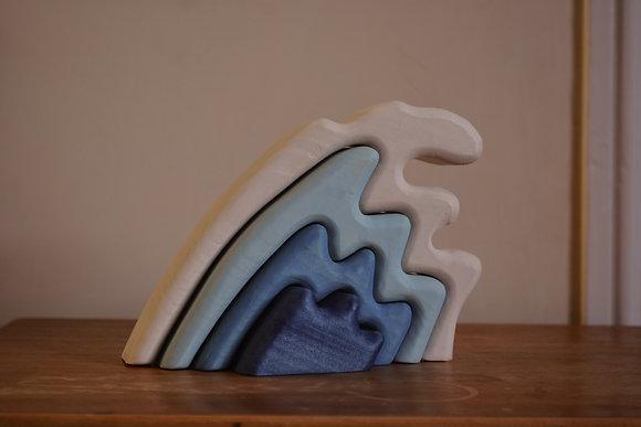 Wave stacker