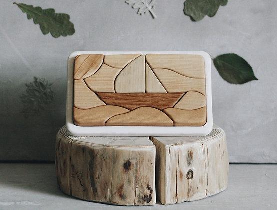 Tateplota Boat Puzzle