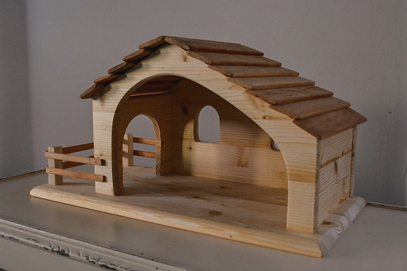 Large Nativity Stable