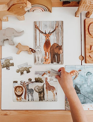 The Majestic Wild Puzzle Collection - Jo Collier Designs