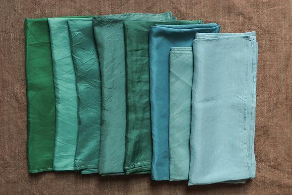 Play Silks Turquoise shades