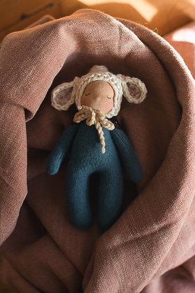 Sleeping Lamb B - Waldorf Dolls