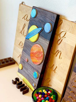 Solar System Puzzle - Treasure From Jennifer