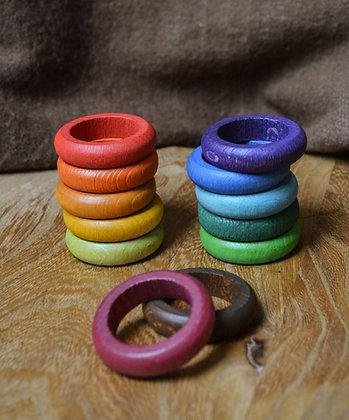 Rainbow Rings for Perpetual Calendar