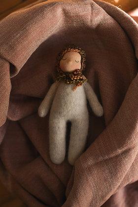 Sleeping Lamb H - Waldorf Dolls
