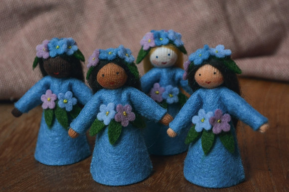 Ambrosius Forget-Me-Nots Crown Fairies