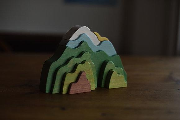 Summer Green  Mountain Stacker