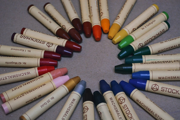 Stockmar Individual Crayon Sticks Colours