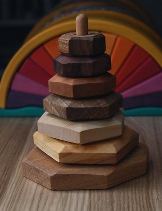 Wooden Stacking Tower - Predan