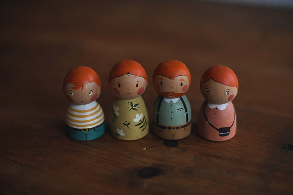 PRE ORDER Family 6 - Little People