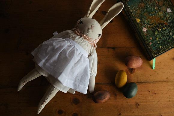 Large Cream Rabbit Natalia - The Polkadot Club