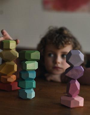 Set of 15 Balancing Stones
