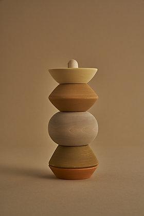Raduga Grëz Big Ball Stacking Sculpture Tower