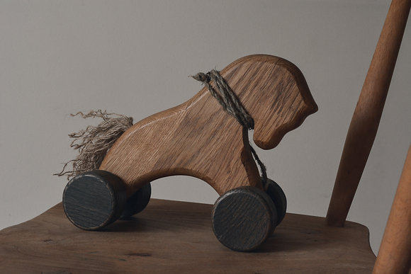 Wooden Horse Pull Along
