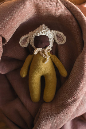 Sleeping Lamb M - Waldorf Dolls