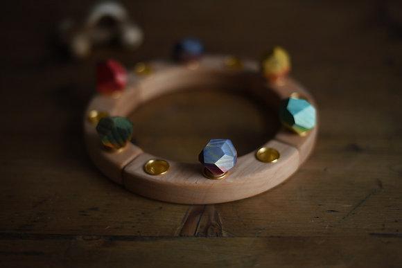 Wooden Gem Stones - Ornament for Celebration Ring