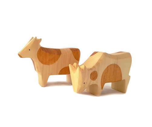 Speckled Red Cows - Brin d'Ours
