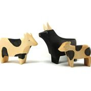 Speckled Black Cows - Brin d'Ours