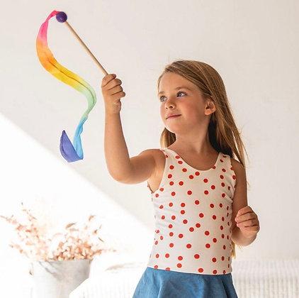 Rainbow Mini Streamer -Sarah's Silk