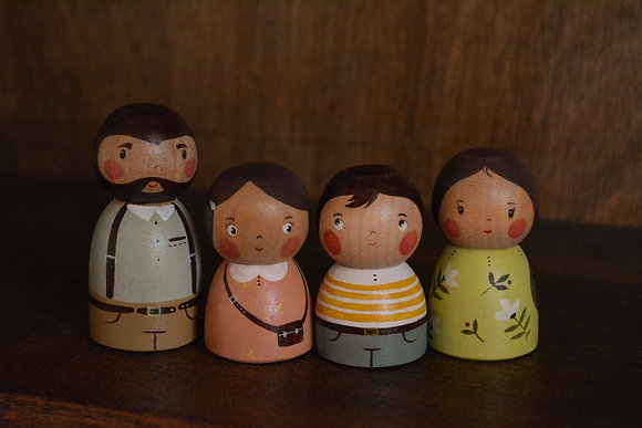 PRE ORDER Family 1 - Little People