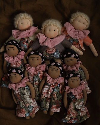 Frida Kahlo Dolls - Studio Escargot
