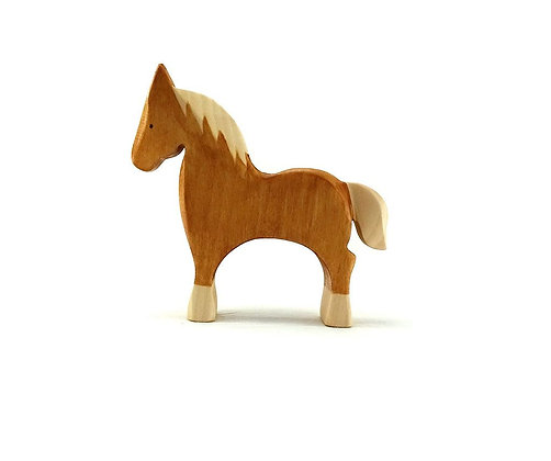 Palomino Horse - Brin d'Ours