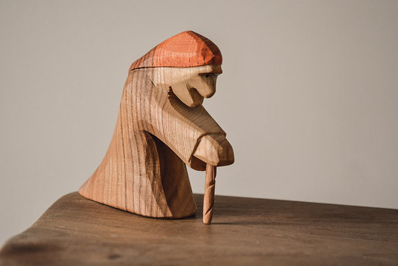 Standing Witch - Predan Wooden Toys