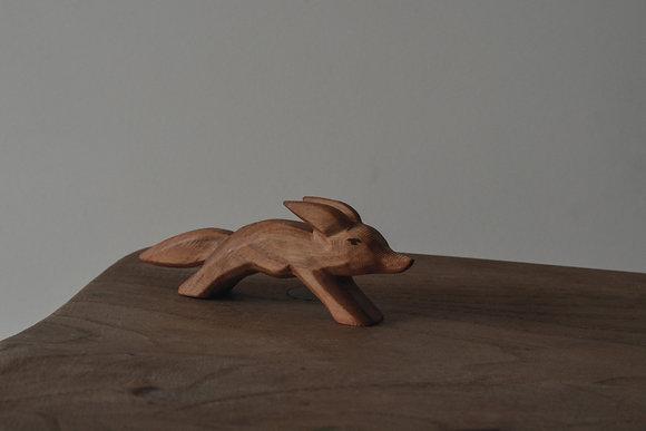 Fox Running - Predan Wooden Toys