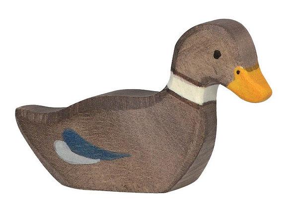 Duck Swimming - Holztiger