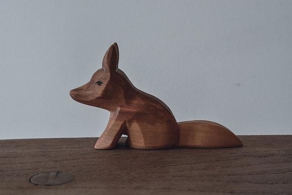 Fox Sitting - Predan Wooden Toys