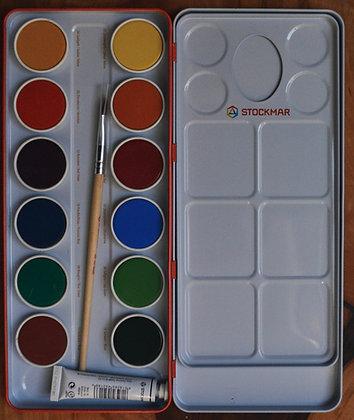 Stockmar Opaque Watercolours Tin