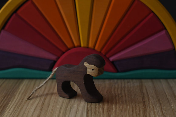 Monkey with tail