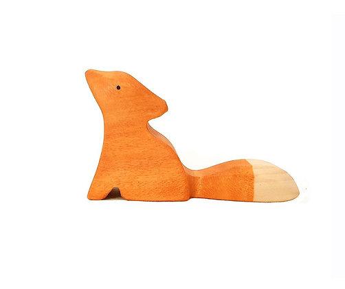 Sitting Fox - Brin d'Ours