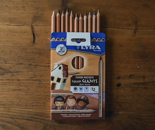 Colours Giant Pencils - Skin Tones Lyra