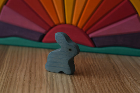 Grey Blue Rabbit