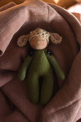 Sleeping Lamb I - Waldorf Dolls