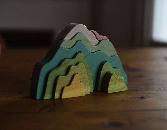 Golden Spring Mountain Stacker