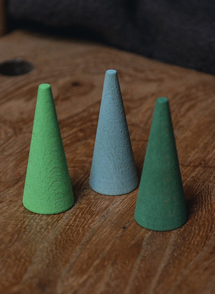 Grapat Mandala Green Cones