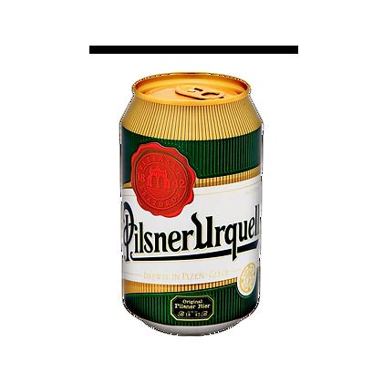 Pilsner Urquell Beer - 330ml Can (24s)
