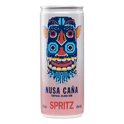 Nusa Cana Spritz Pink Grapefruit Lychee & Lime Soda (4s)