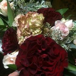 These roses are incredible!  Just beginning wedding 1 of 3 build! #mammothweddings #mammothstories #