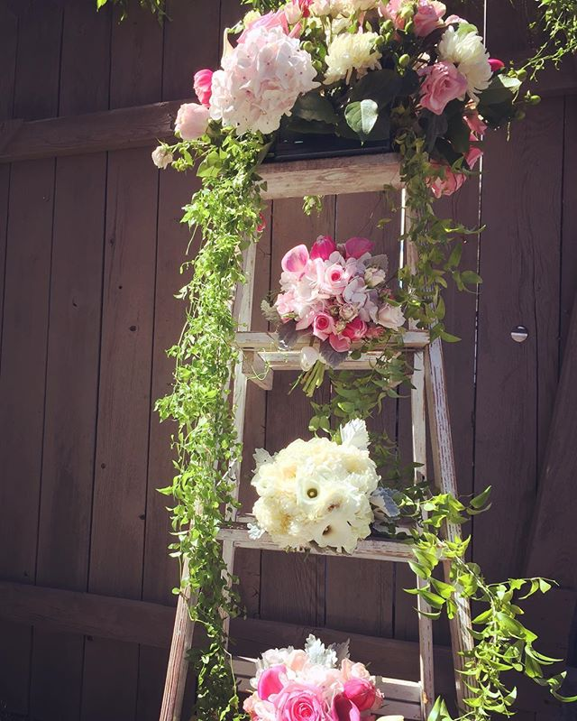 Pretty in pink #vintagewedding #pink #mountainwedding #sierra #almostfall #florist #mammothweddings