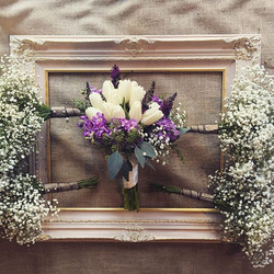 Triple digit weddings this weekend!#lovesummer #mountainbride #sierraweddings #babiesbreath #wedding