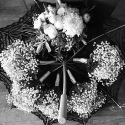 It's a nice day for a #blackandwhitewedding #wedding #mammoth #junelake #junemountain #doubleeaglere