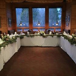 #double eagle #junelakewedding #florist #garland #mountainbride #spring #snow  #junelake #wedding